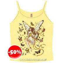 Golden Wings Top T-shirt Fairy