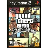 Grand theft auto - San Andreas PS2 Game