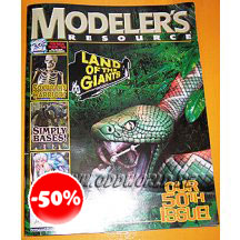 Modelers Resource 50 Model Kit Garage Kits Magazine