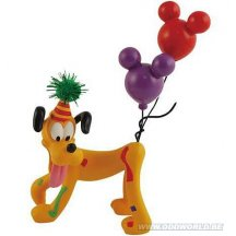 Disney Pluto Dog Happy Birthday Statue