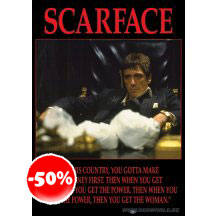 Scarface Power In This Country Poster