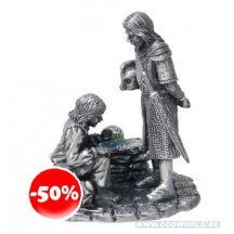 The Lord Of The Rings Merry and Theoden Miniature Statue