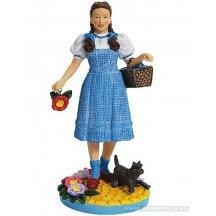 Wizard Of Oz Dorothy And Dog Toto Poppy Statue