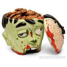 Zombie Head Cookie Jar Geek Toy