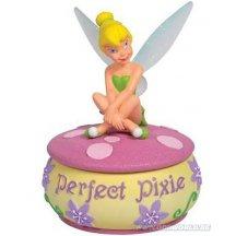 Disney Disney Fairies Tinker Bell Perfect Pixie Trinket Box Statue