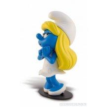 The Smurfs La Schtroumpfette Smurf Amoureuse Statue