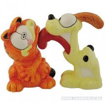 Garfield And Odie Salt And Pepper Shaker Set Statue