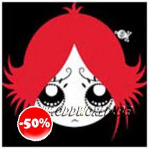 Ruby Gloom Portefeuille Geldbeugeltje Gothic