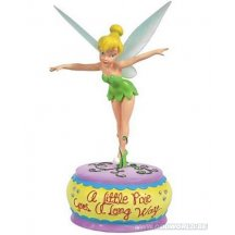 Peter Pan Disney Fairies Pixie Tinker Bell  Musical Statue