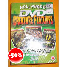3 Dvd Creature Features Horror In One Box Set