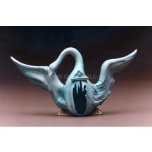 Salvador Dali Desing For The Ballet Swan Statue