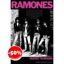 Ramones Rocket To Russia Poster